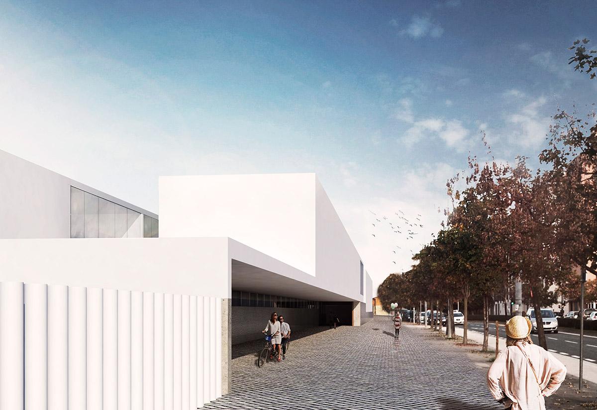 Colegio Iparralde Concurso Pardo Tapia Arquitectos